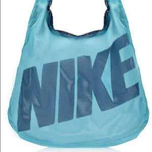 Nike Graphic Reversible Tote Gym Bag Shoulder